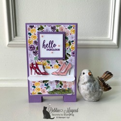 Pretty Fun Fold Card Featuring Dressed To Impress Bundle by Stampin' Up!