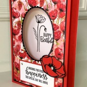 Shadow Box Card Featuring Peaceful Moments by Stampin