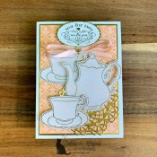 Time for Tea with the Tea Together Stamp Set by Stampin