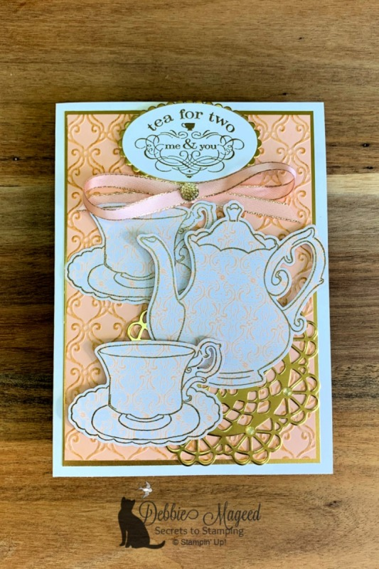 Time for Tea with the Tea Together Stamp Set by Stampin' Up!