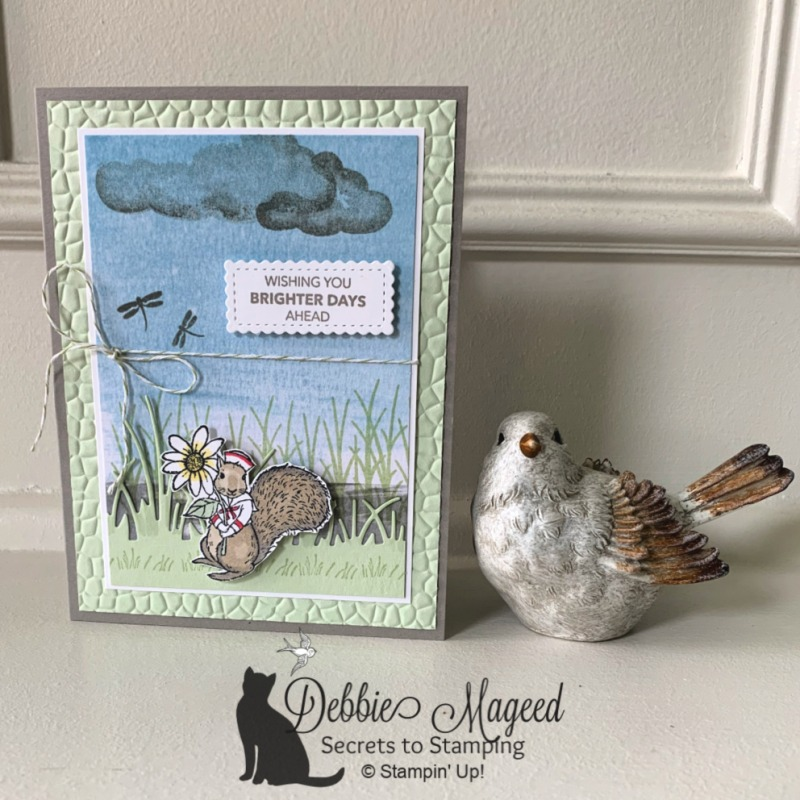 Cute Card with Fable Friends by Stampin' Up!