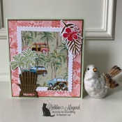 Tropical All Occasion Card Featuring Timeless Tropical Stamp Set by Stampin