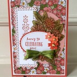 Ornate Garden Birthday Card for Make My Monday