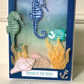 Birthday Card Using Seaside Notions Stamp Set by Stampin