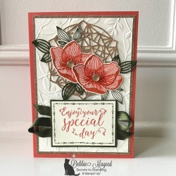 Birthday Card Featuring Beautiful Promenade Stamp Set by Stampin' Up!