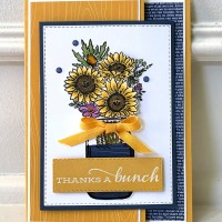 New Jar of Flowers Stamp Set by Stampin