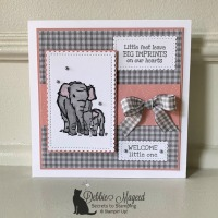 Sweet Baby Card Featuring Wildly Happy Stamp Set by Stampin