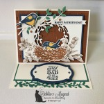 Birds & Branches Easel Card for the Pals Blog Hop