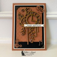 Steampunk Card Using Geared Up Garage by Stampin