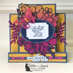 Blossoms in Bloom Center Step Card by Stampin' Up!
