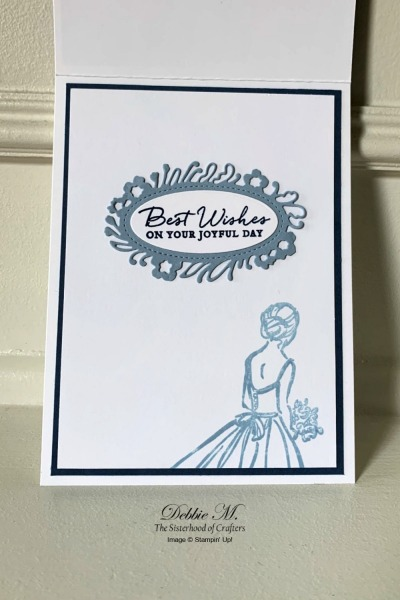 Wedding Card Featuring So Sentimental Stamp Set by Stampin' Up!