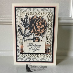 All Occasion Card with Prized Peony Stamp Set by Stampin' Up!