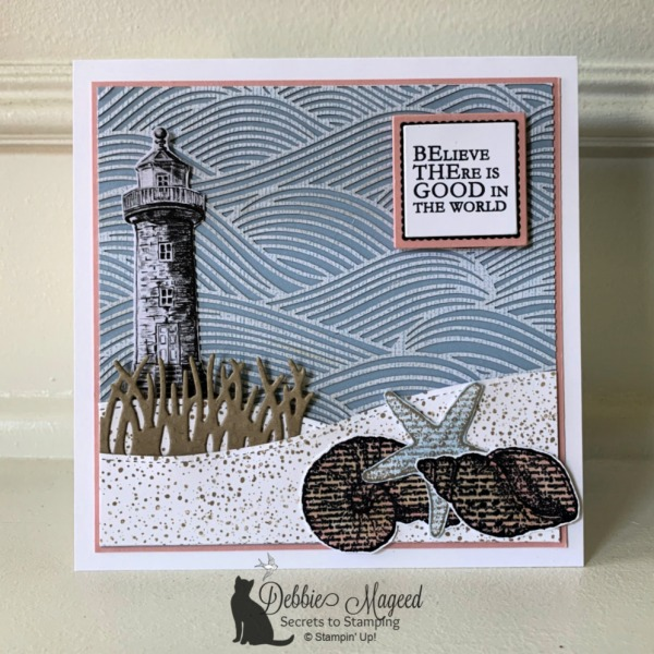 Beach Card Featuring By the Seashore by Stampin' Up!