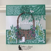 Pretty Scenic Card Featuring Graces Garden by Stampin