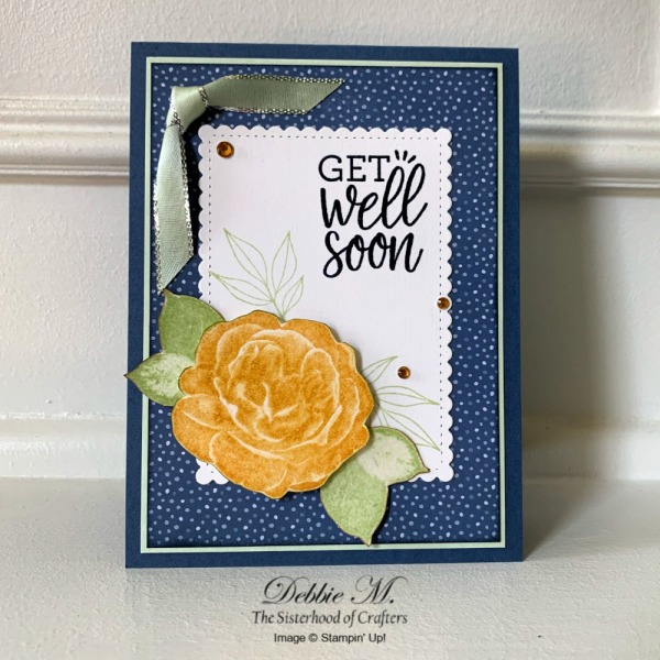 Get Well Card Featuring Healing Hugs by Stampin' Up!