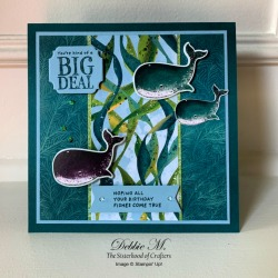 Whale Done Birthday Card by Stampin' Up!